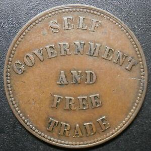 Canada token - Self government and free trade 1857 - Prince Edward Island