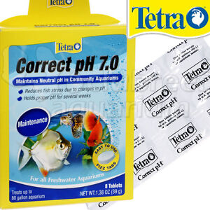 Correct ph 7 0 tablets maintain neutral freshwater raise for How to raise ph in fish tank