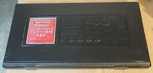 Vintage Sears CRAFTSMAN TOOLS Kromedge 59 Piece TAP AND DIE SET Model 9-52151