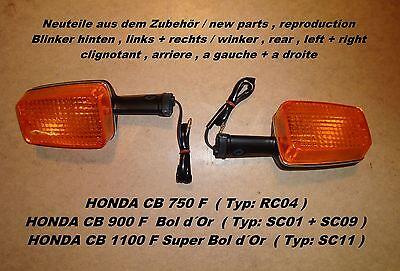 Blinker PAAR hinten links rechts Honda CB 750 F