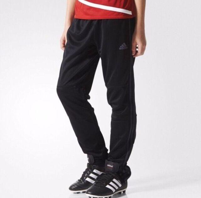 6ce1a6228bb35 adidas performance Boys Junior Kids Tiro 3Stripe Climalite track pants  football
