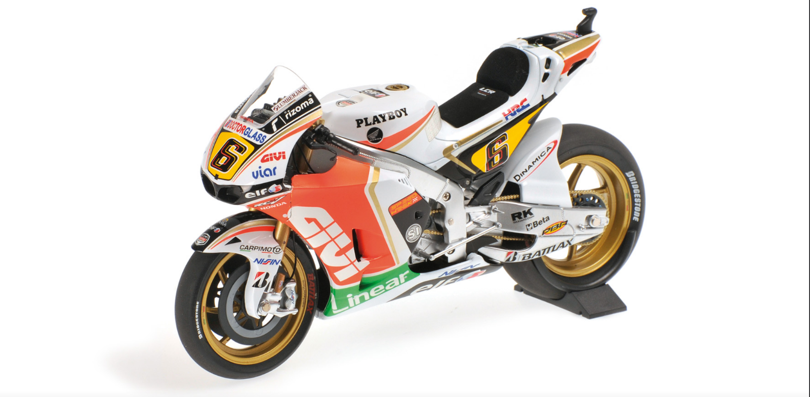 1 12 Honda RC213V Bradl MotoGP 2012 1 12 • Minichamps 122121106