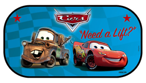 Tendina Parasole Posteriore Auto CARS Disney Oscurante Lunotto 90x50 cm baby NEW
