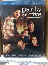 Party Of Five The Complete First Season DVD Box Set Unopened/Factory Sealed