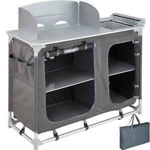 Cucina-da-campeggio-con-paravento-box-da-esterni-alluminio-mobile-pieghevole-nuo