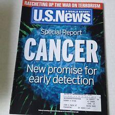U.S. News Magazine Cancer Special Report Detection June 24, 2002 061917nonrh