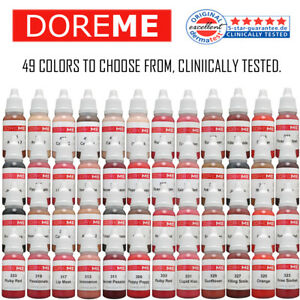 DOREME-Permanent-Makeup-Pigment-Ink-Color-Tattoo-Micro-Cosmetic-Micropigmention