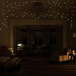 Glow-in-the-Dark-Star-Wall-Stickers-407pcs-Round-Dot-Luminous-Child-Room-Decor