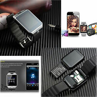 Touch Screen Bluetooth Smart Watch Phone Camera For Samsung Note 5 4 3 LG G5 G4