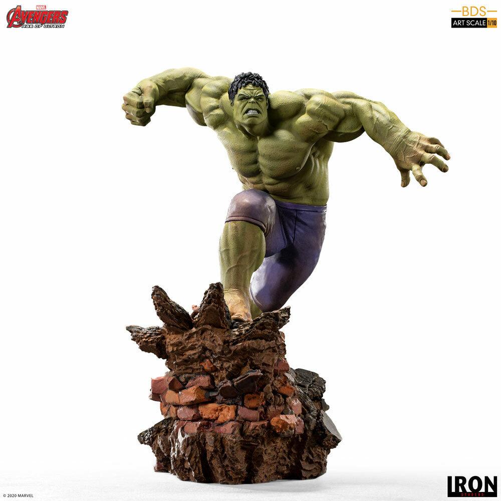 Iron Studios Marvel Avengers Age of Ultron Hulk Art Scale BDS 1/10 Statue  on eBay thumbnail