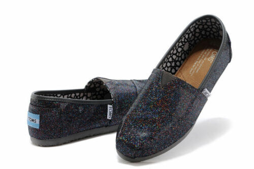 BRAND NEW WITH TAG TOM/'S MULTI GLITTER ALL SIZES