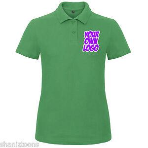 di verde Acquista di personalizzato X3 da Maglietta da polo colore donna design donna logo OXZukiP