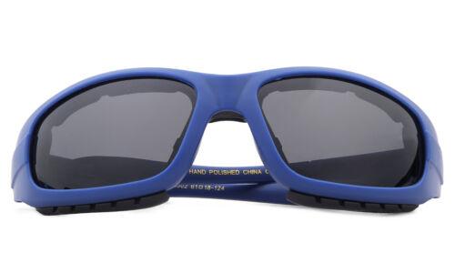 Safety Goggles Polarized Glasses Anti Glare Foam Padded Biking Motorcycle UV100/%