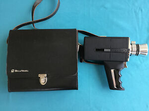 Bell-amp-Howell-Super-8-Zoom-Director-Series-Camera-With-Case-Untested
