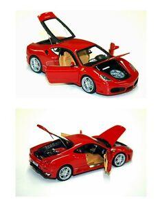1:43 M. Collection Modèles Ferrari F430 Red-rojo Ouvrir-fermer L.e No Brbr D & g Nouveau