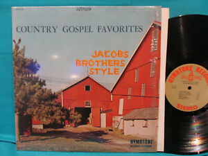 Jacobs Brothers Country Gospel Favorites Hymntone Rare Pa Xian In