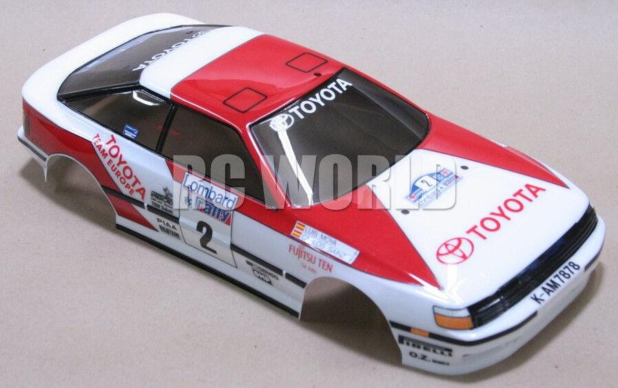 Tamiya 1/10 Toyota Celica Rally WRC Carrozzeria Gt-Four Finito Nuovo