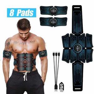 Electrostimulation-Muscle-Stimulator-EMS-abdominale-vibrant-Ceinture-ABS-Trainer