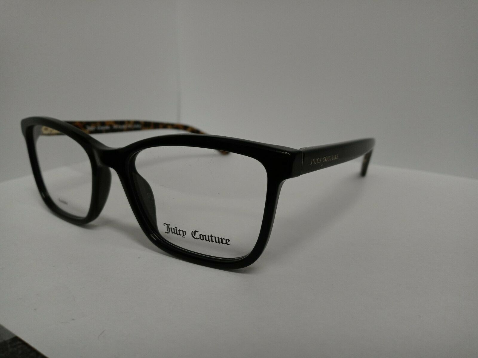 Juicy Couture JU 305 Black and Leopard New Plastic Frame 52-18-140