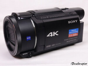 sony fdr ax53 camcorder zubeh rpaket 4k ultra hd ax53. Black Bedroom Furniture Sets. Home Design Ideas