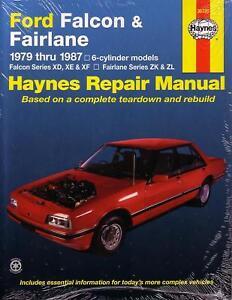 haynes repair manual ford falcon xd xe xf zk zl 79 87 ebay rh ebay co uk xf falcon workshop manual free download Ford Falcon EB