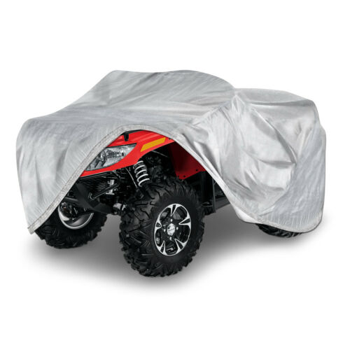 Full ATV Cover Dust Dirt Scratch Heat Sun UV Proof Fits Arctic Cat 400 TRV XL