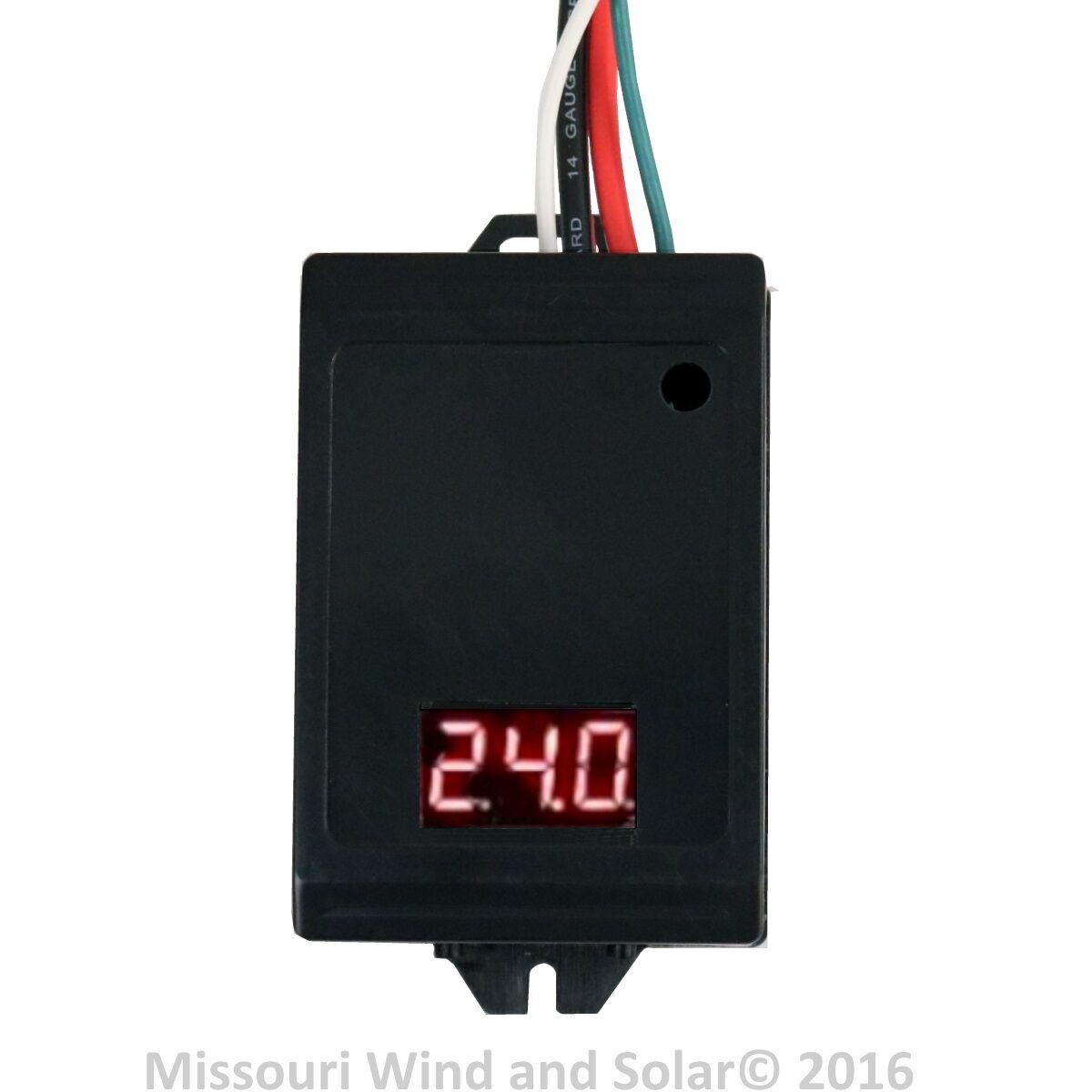 10000 Watt 440 Amp Hybrid Charge Controller 24 Volt For Wind Turbine Dumpload Missouri And Solar Panel