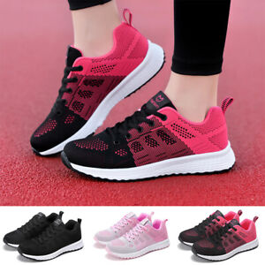 Women-Mesh-Trainers-Sneakers-Comfy-Casual-Slip-On-Running-Sports-Gym-Shoes-Size