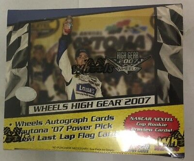 2008 Wheels High Gear Factory Sealed NASCAR Racing Hobby Edition Box
