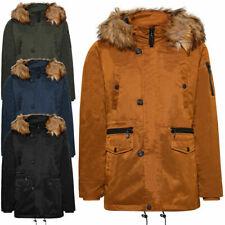 Cappotto uomo TWIG Northern Parka L308 cappuccio con pelliccia giubbotto giacca