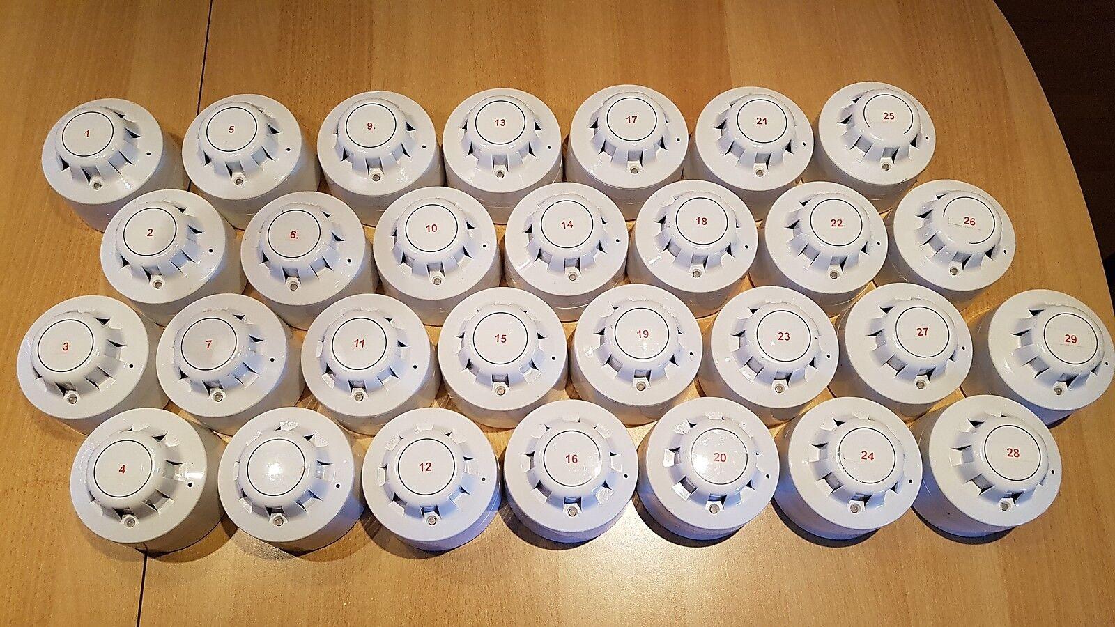 Tyco ZETTLER ZX Funkbrandmeldesystem m. 29 Funk-Rauchmelder