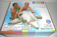 Intex Swimming Pool Dolphin & Whale Ride On 2 Pack Toys