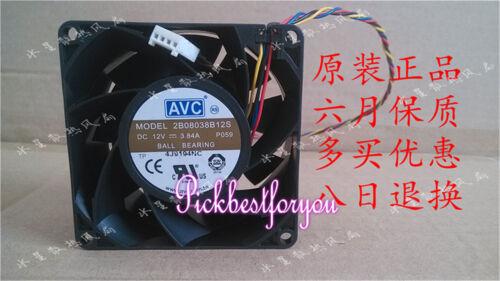 AVC 2B08038B12S 8038 12V 3.84A high speed violent server fan #MK75 QL