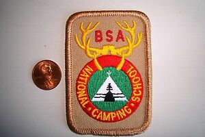 OA-BOY-SCOUTS-AMERICA-BSA-SCOUT-FLAP-ANTLER-NATIONAL-CAMPING-SCHOOL-POCKET-PATCH