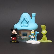 Smurfs The Lost Village McDonalds Happy Meal Toys 2017 SMURFETTE & GLOW BUNNY