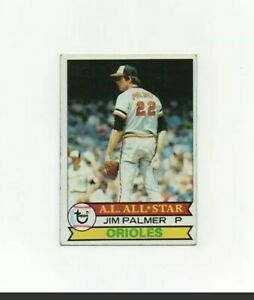 1979 Topps Jim Palmer Baseball Card #340 - Baltimore Orioles HOF