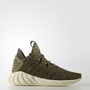 brand new 613f9 09547 Image is loading Adidas-Originals-Women-Tubular-Dawn-Trace-Olive-Creme-