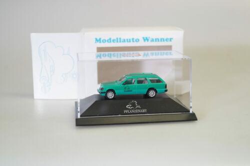 Wanner nuevo... 1:87 Herpa somo pc box MB de e-Klasse T-modelo coche especie vegetal de casa