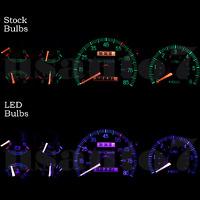 Dash Instrument Cluster Gauge Purple Led Light Kit Fits 87-91 Ford F150 F250