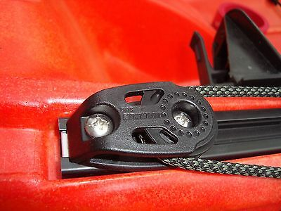 "3.25/"" Anchor Jam Cleat for Third Coast /& Perception Kayak Slide Rail Track"