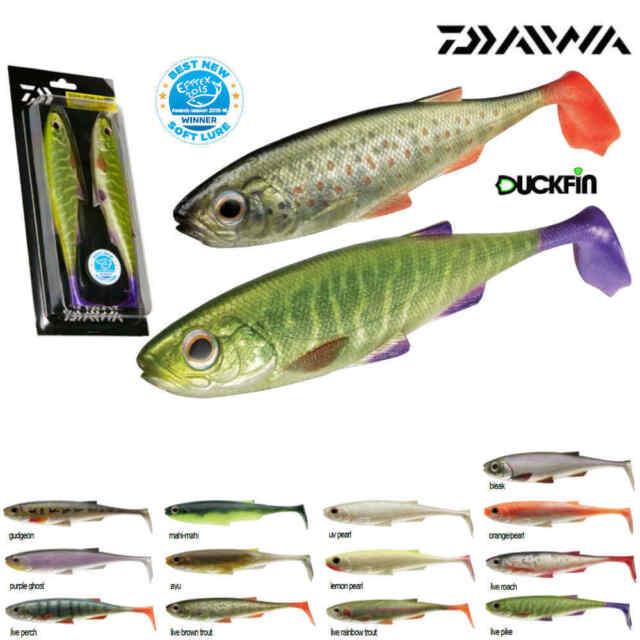 Daiwa Tournament Duckfin Shad Gummifisch Farbe und Länge zur Auswahl Gummiköder