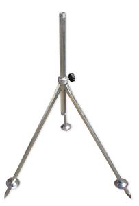 """1/"""" GEKA karasto tres pierna trípode 75-110 cm de alto"""