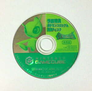 USED-GC-Pokemon-Colosseum-Celebi-Bonus-Disc-Only-JAPAN-Nintendo-GameCube-game