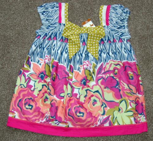988 Pretty John Lewis Girls Floral Swing Top Multi Floral Various sizes