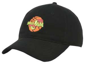 SPACE JAM CURVED BILL DAD HAT BASEBALL CAP LOONEY TUNES MOVIE ... 9d54b707b4b6