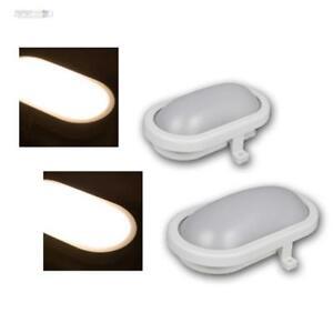 LED-Feuchtraumleuchte-Aussen-Leuchte-Lampe-IP65-Keller-Oval-6-12W-Kellerleuchte