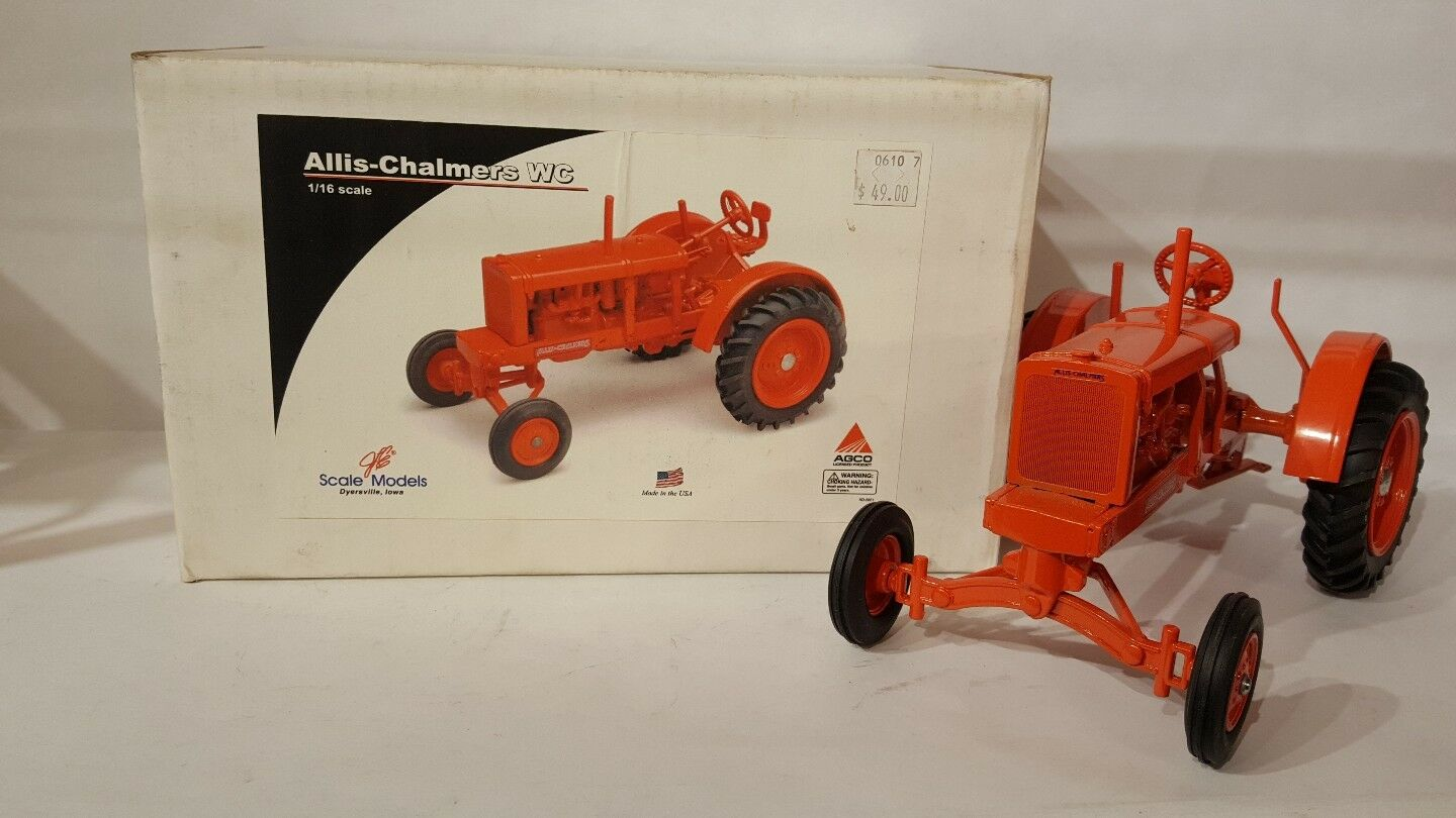 Allis Chalmers WC 1 16 diecast farm tractor replica collectable by Scale Models