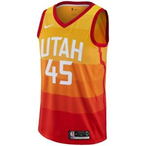 Brand New Nike NBA Donovan Mitchell Utah Jazz  45 City Edition ... 9d7fe684f