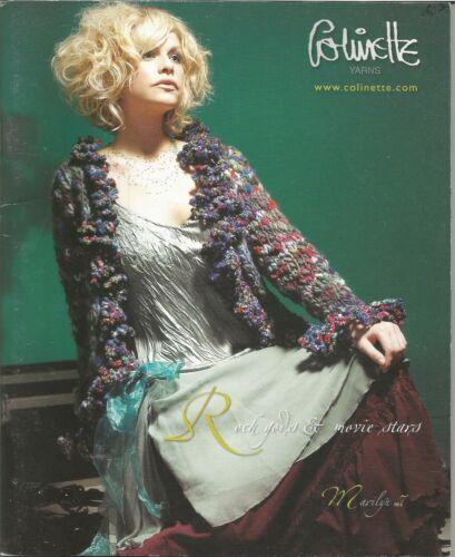 Colinette Yarns ROCK GODS /& MOVIE STARS Knitting Book Point Five /& Tagliatelle