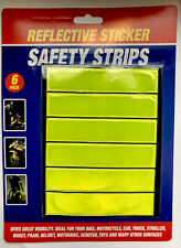 Reflective High Visibility Strips Safety Stickers Bikes,Cycling Hi-Viz